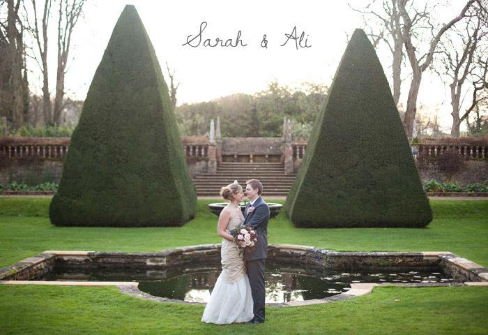 Wedding photographer at Athelhampton House in Dorset