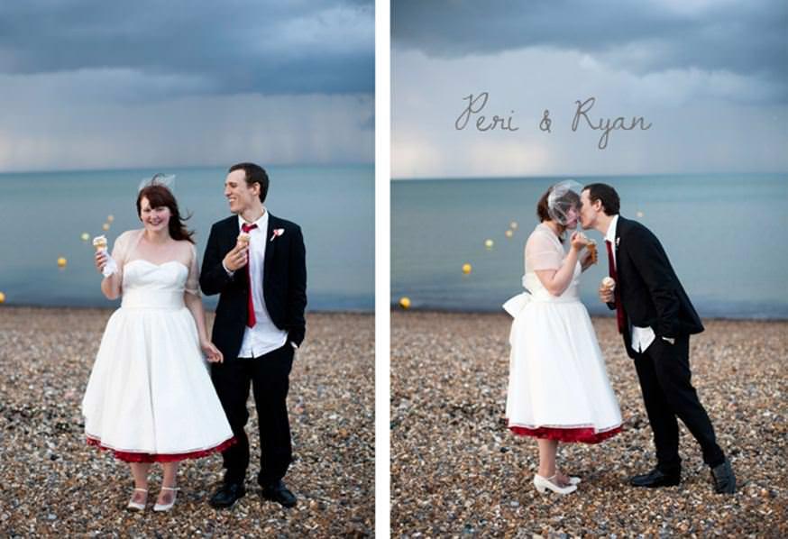 retro vintage wedding photography in Kent