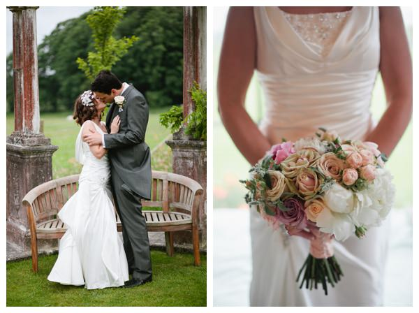 Elspeth Miguel vintage wedding at Hill Place in Hampshire