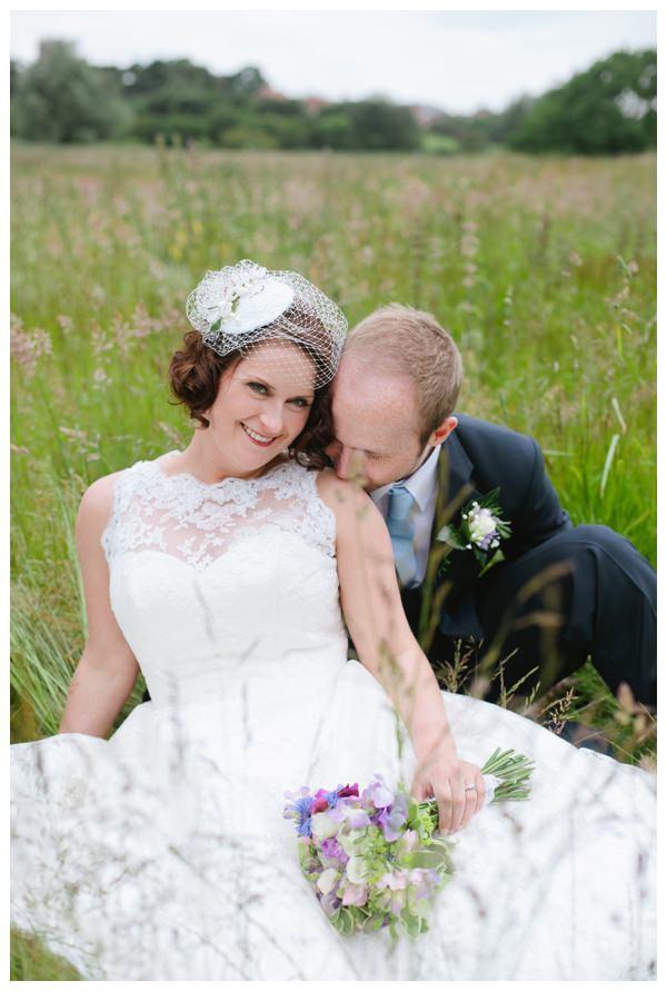 Country garden vintage wedding in Norfolk