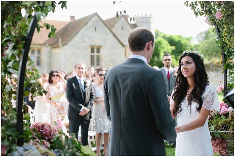 Wedding photographer at Notley Abbey