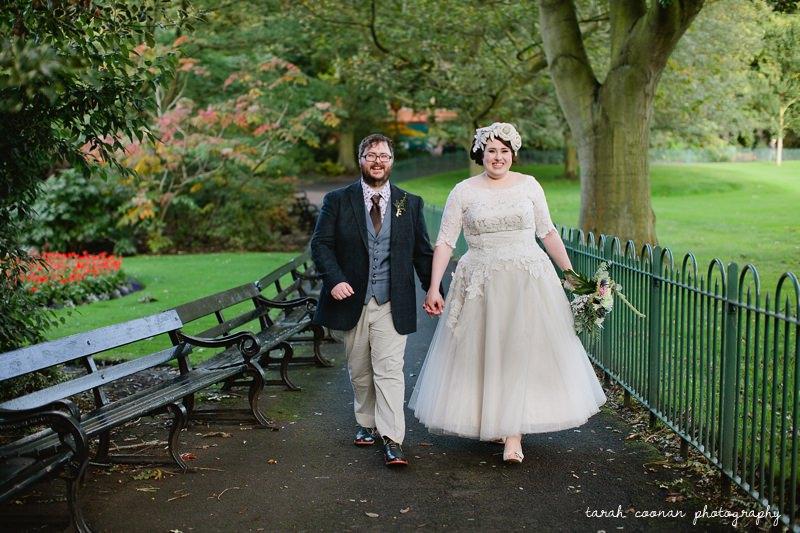 Belfast Botanic Gardens wedding photographer
