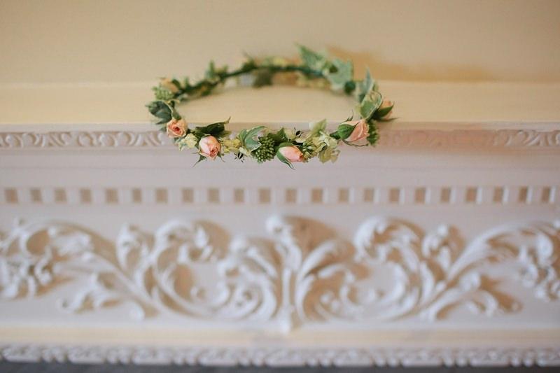 flower crown circlet wedding