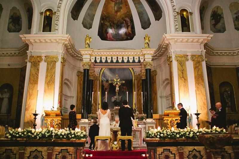 italian church london wedding