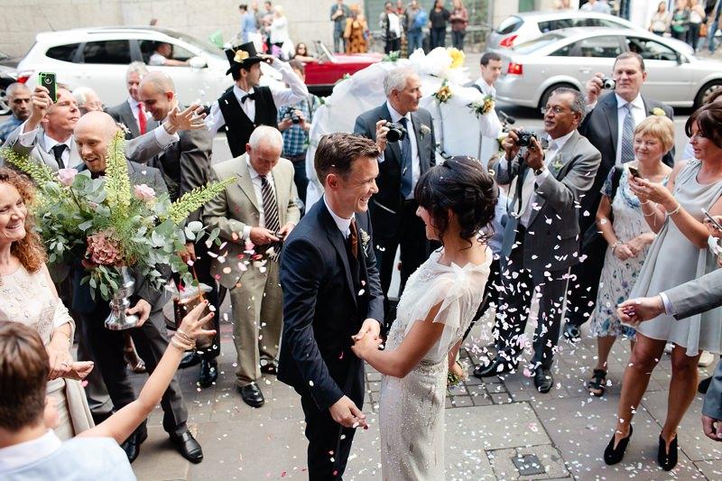 hipster london wedding photographer