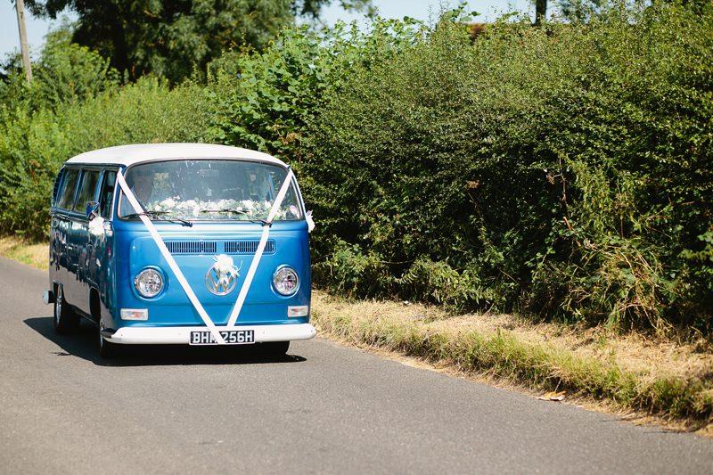 kent wedding VW camper