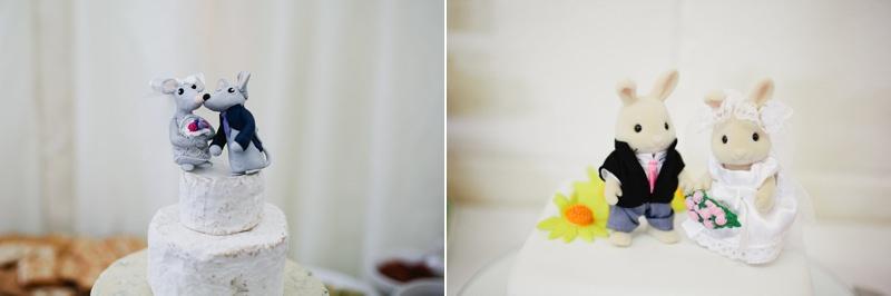 retro wedding cake toppers