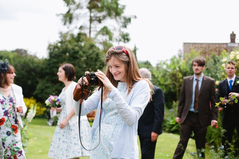 retro camera wedding photographer