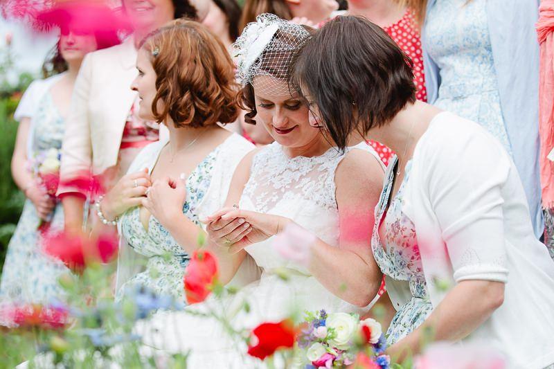 50s wedding dress poppy