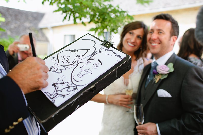 wedding cartoonist