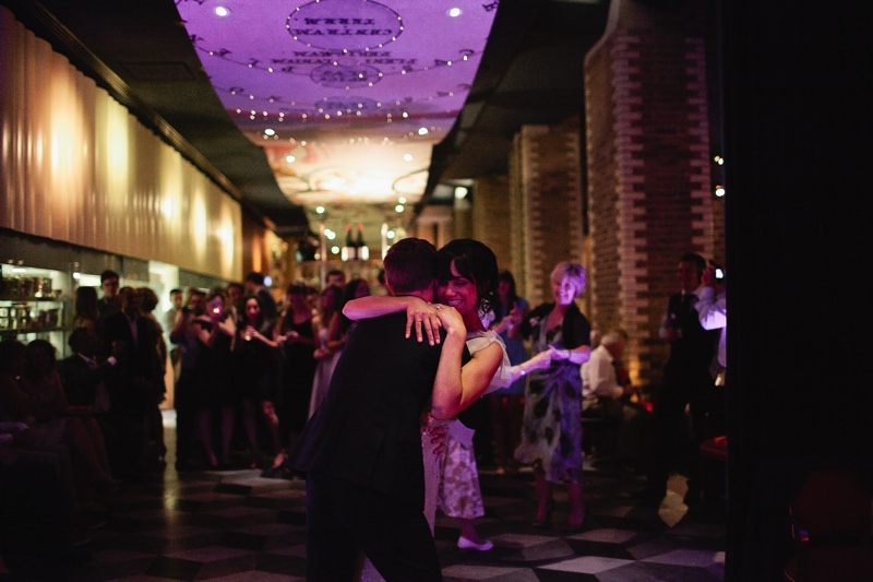 the boundary hotel wedding first dance