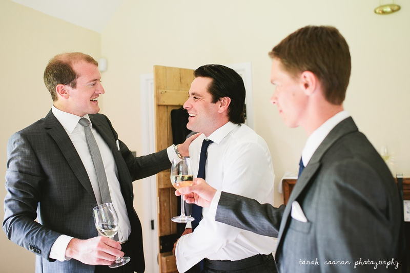 groom prep photo