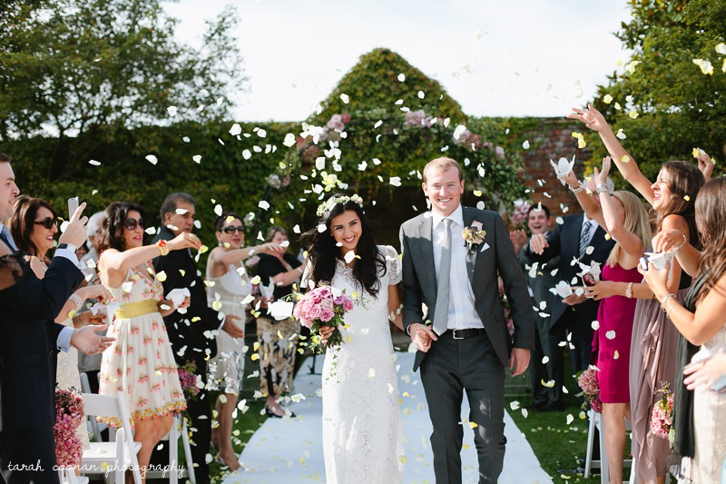 Notley Abbey wedding - Aleeza & Colin