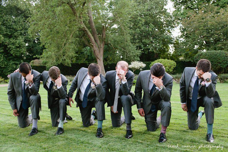 groomsmen stripey socks