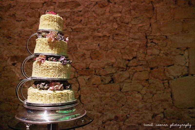 wedding cake notley abbey