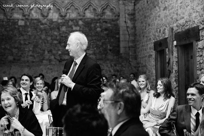 notley abbey wedding speeches
