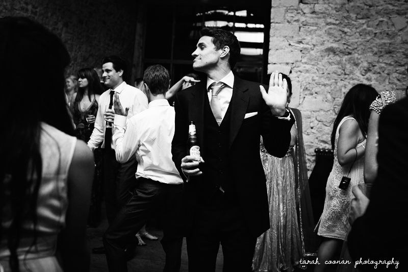 notley abbey wedding evening