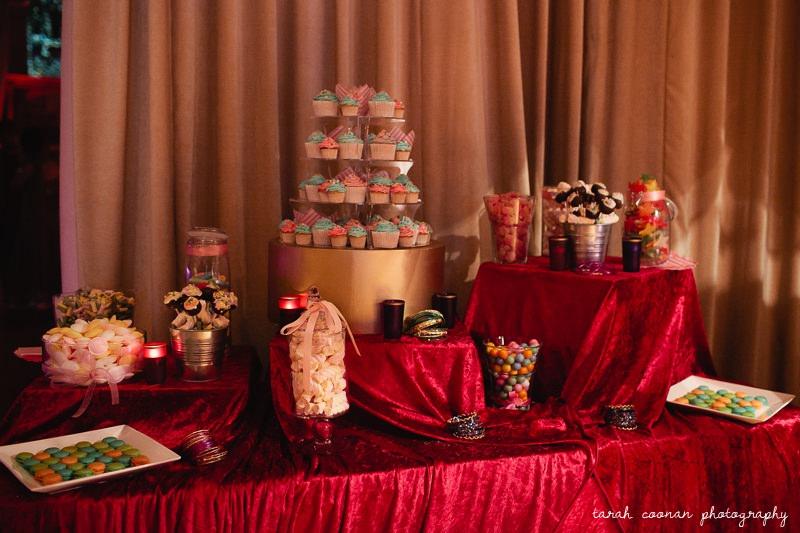 sweet table wedding london