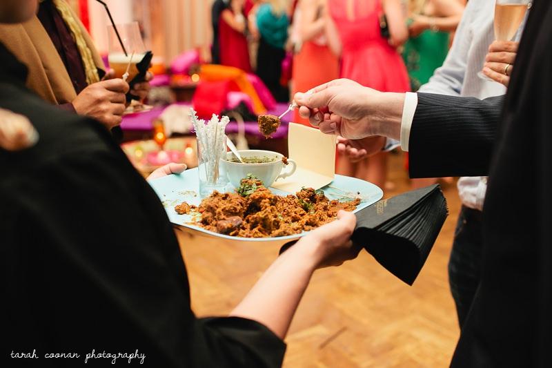 curry wedding food london