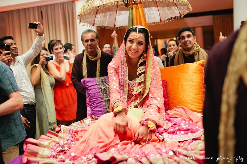 bride mendhi entrance