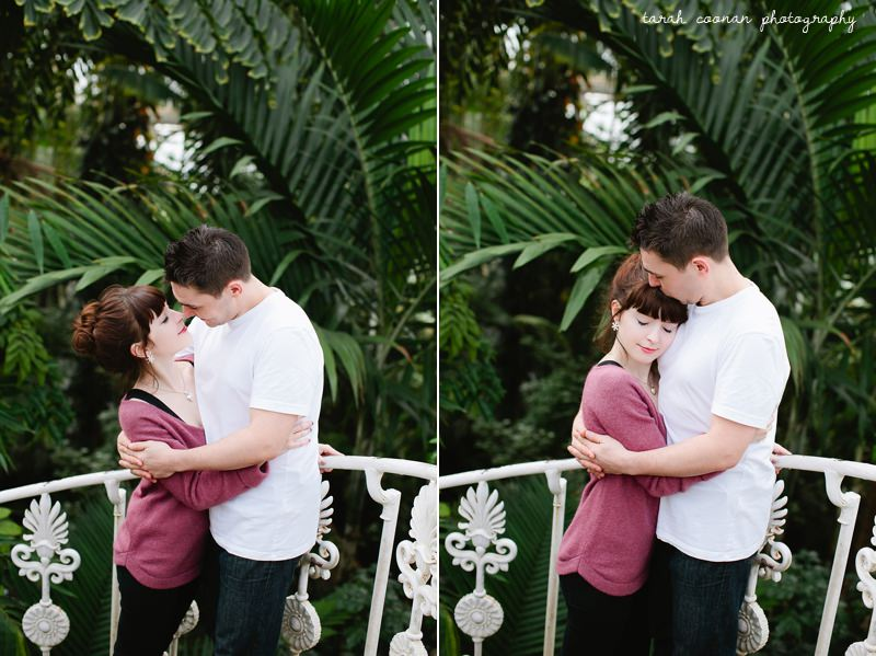 engagement shoot kew gardens