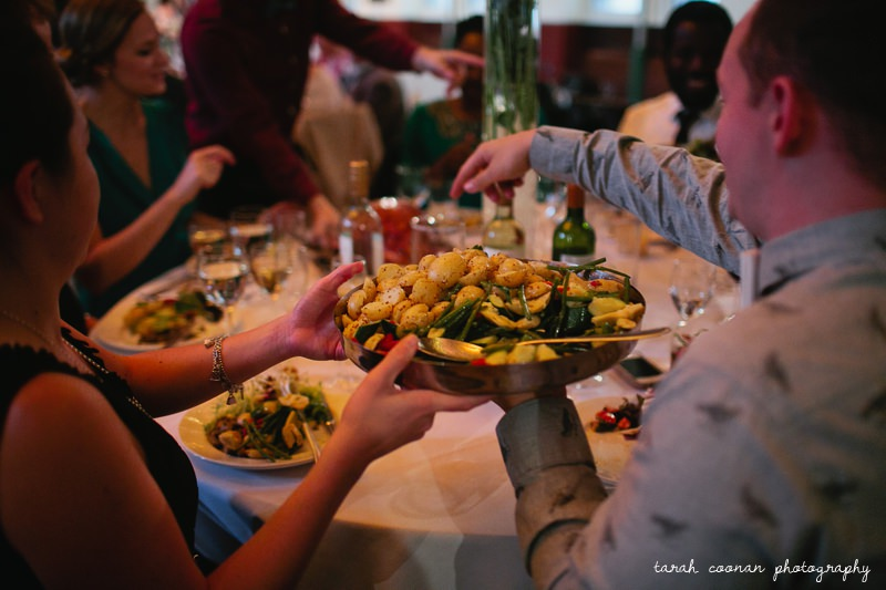 italian style wedding food
