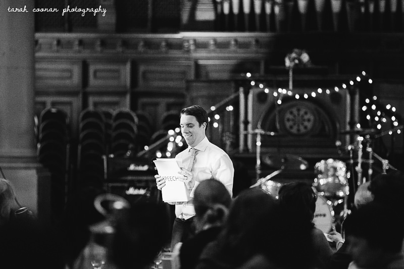 grooms speech fairy lights