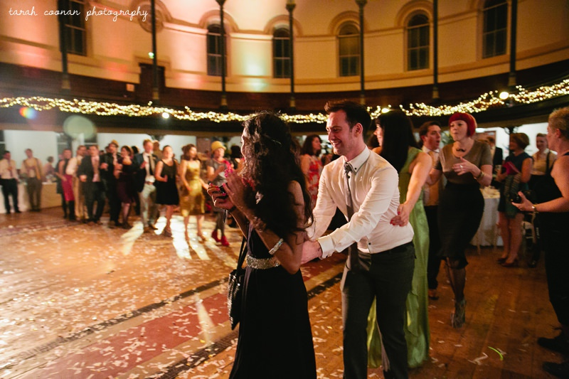love train wedding dance