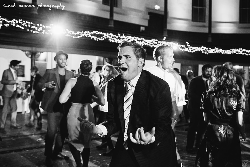 air guitar wedding