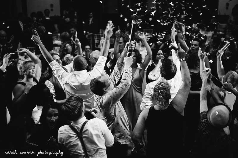 confetti canon wedding