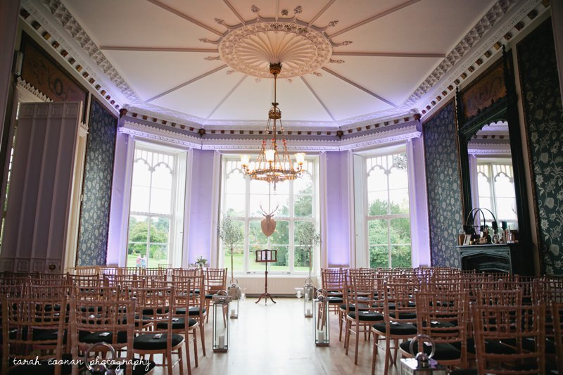 Nonsuch Mansion winter wedding