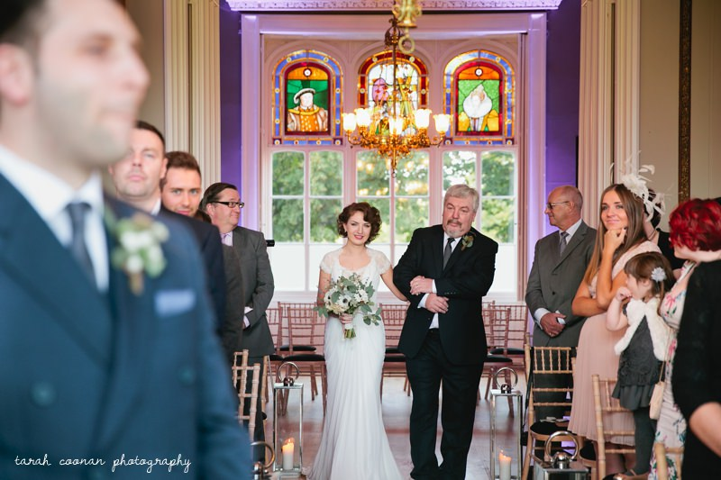 Nonsuch Mansion wedding ceremony