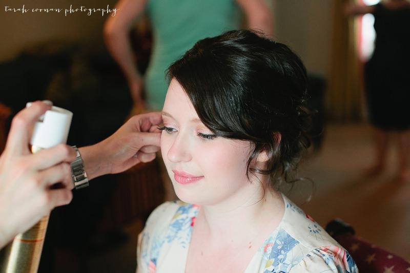 english rose wedding makeup