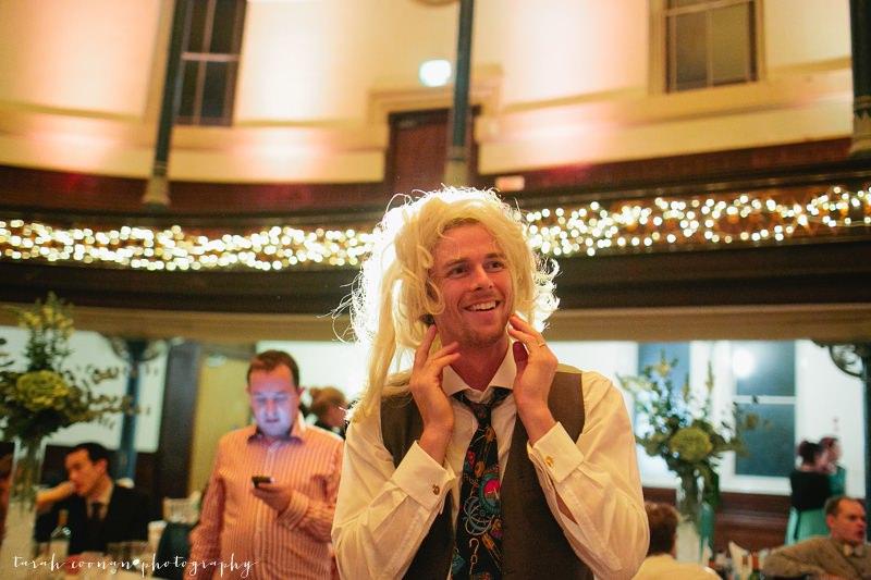 wedding guest wig