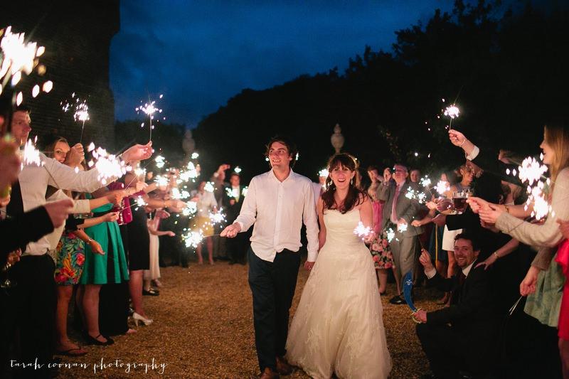 sparklers norfolk wedding