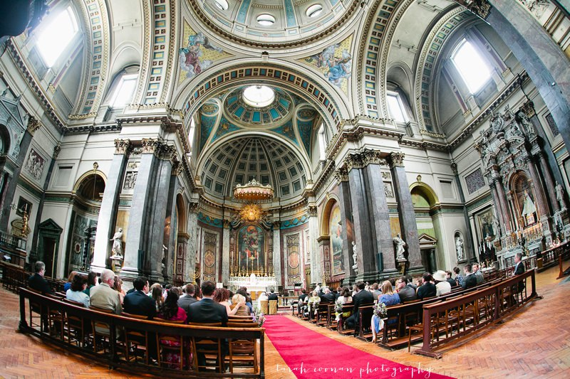 brompton oratory wedding