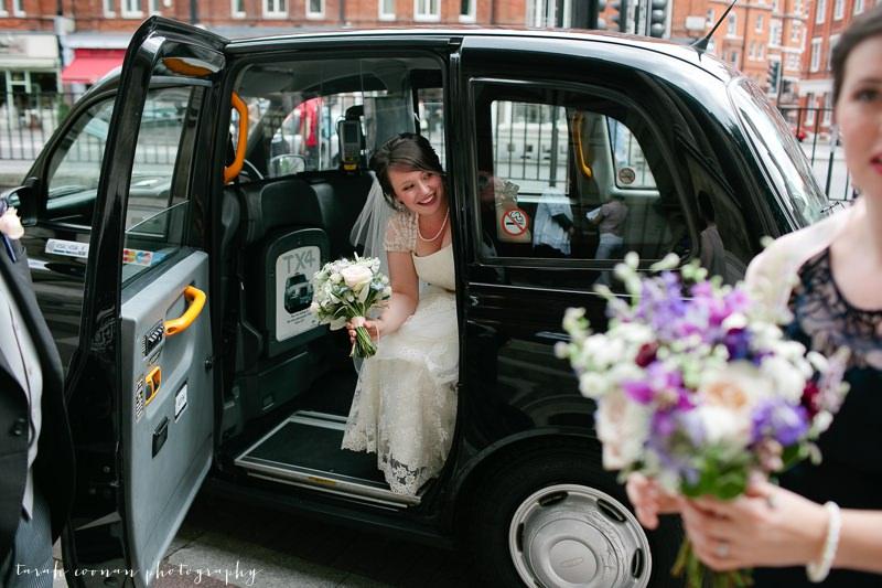 london black cab wedding
