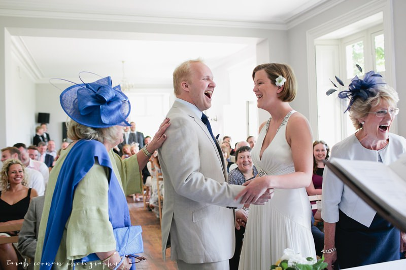 hilarious wedding ceremony