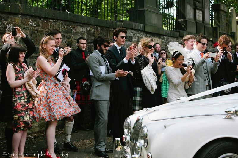 edinburgh wedding car