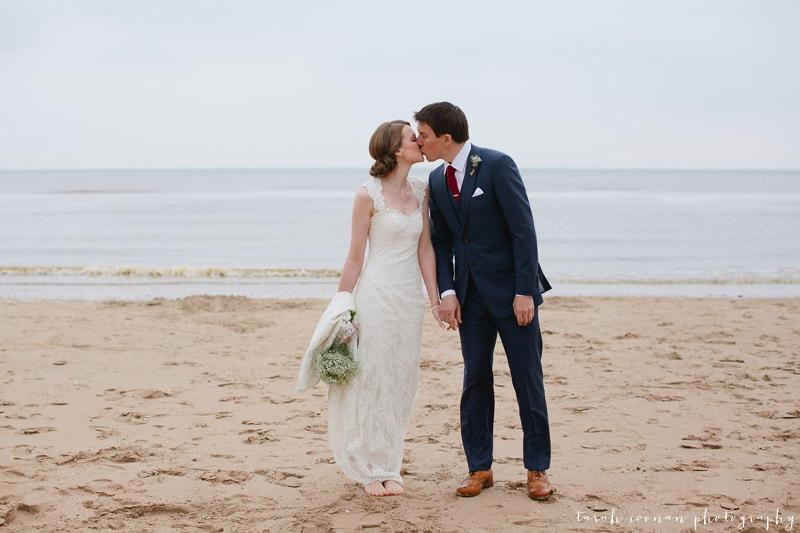 wedding camber sands