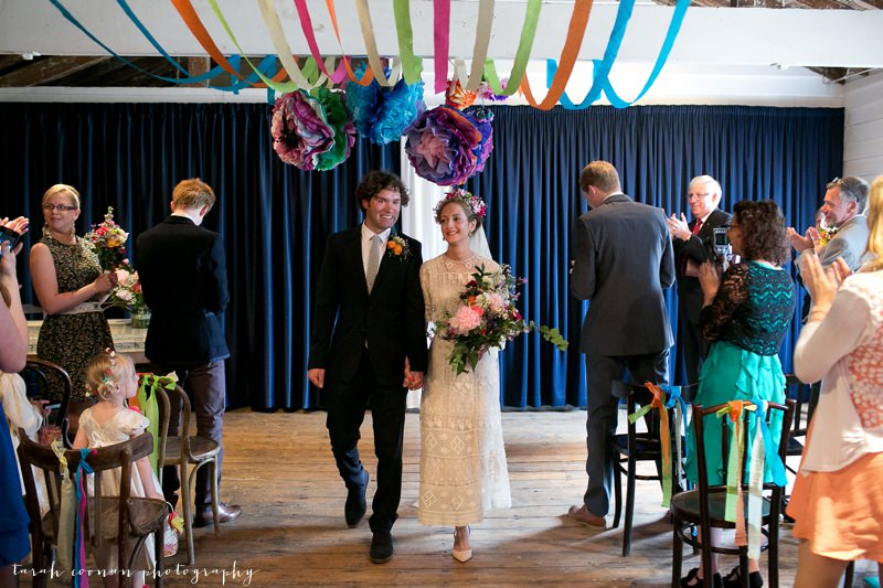 colourful wedding kent
