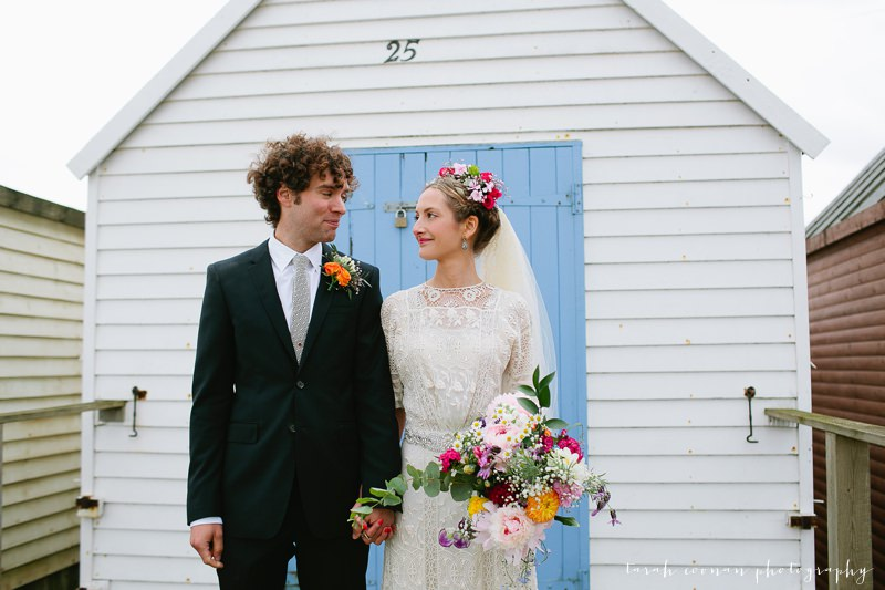 artists beach house whitstable wedding