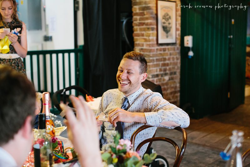 kent colourful wedding