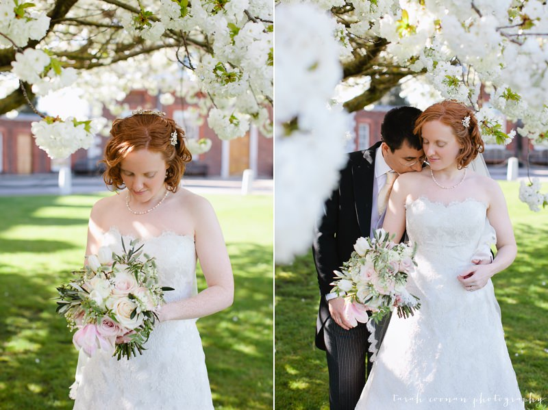 spring blossom wedding
