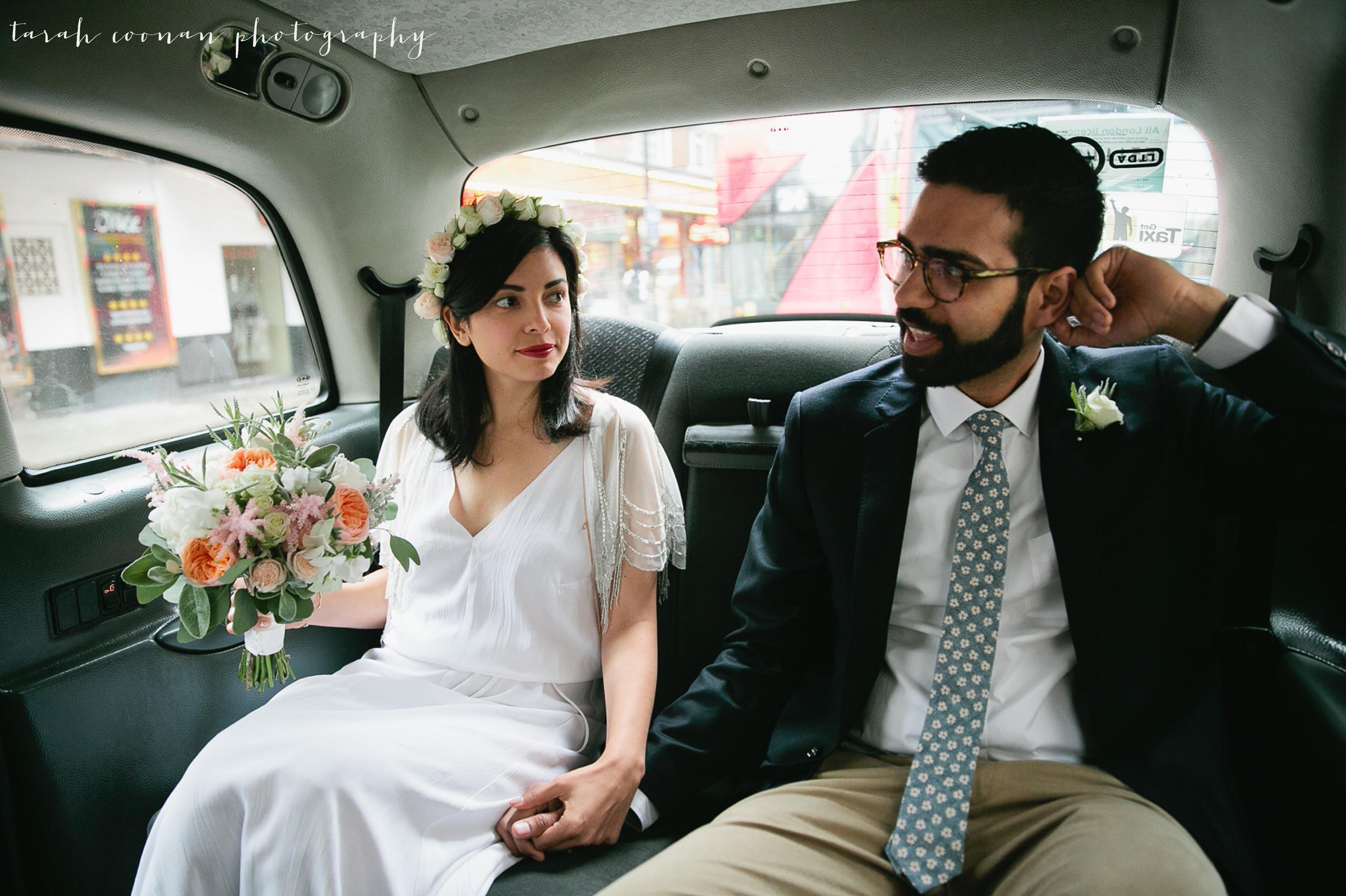 london wedding taxi