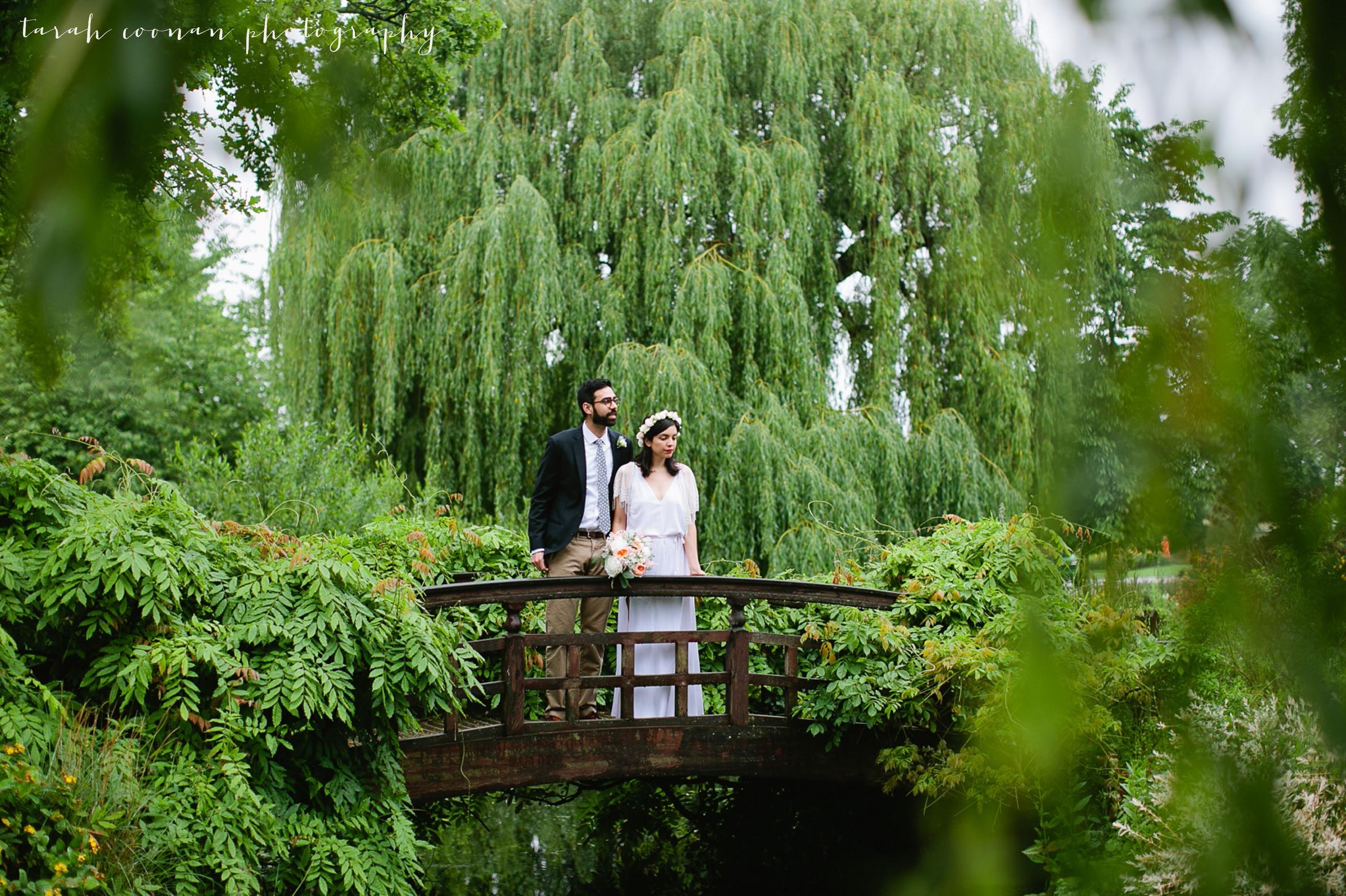 romantic bridge photo