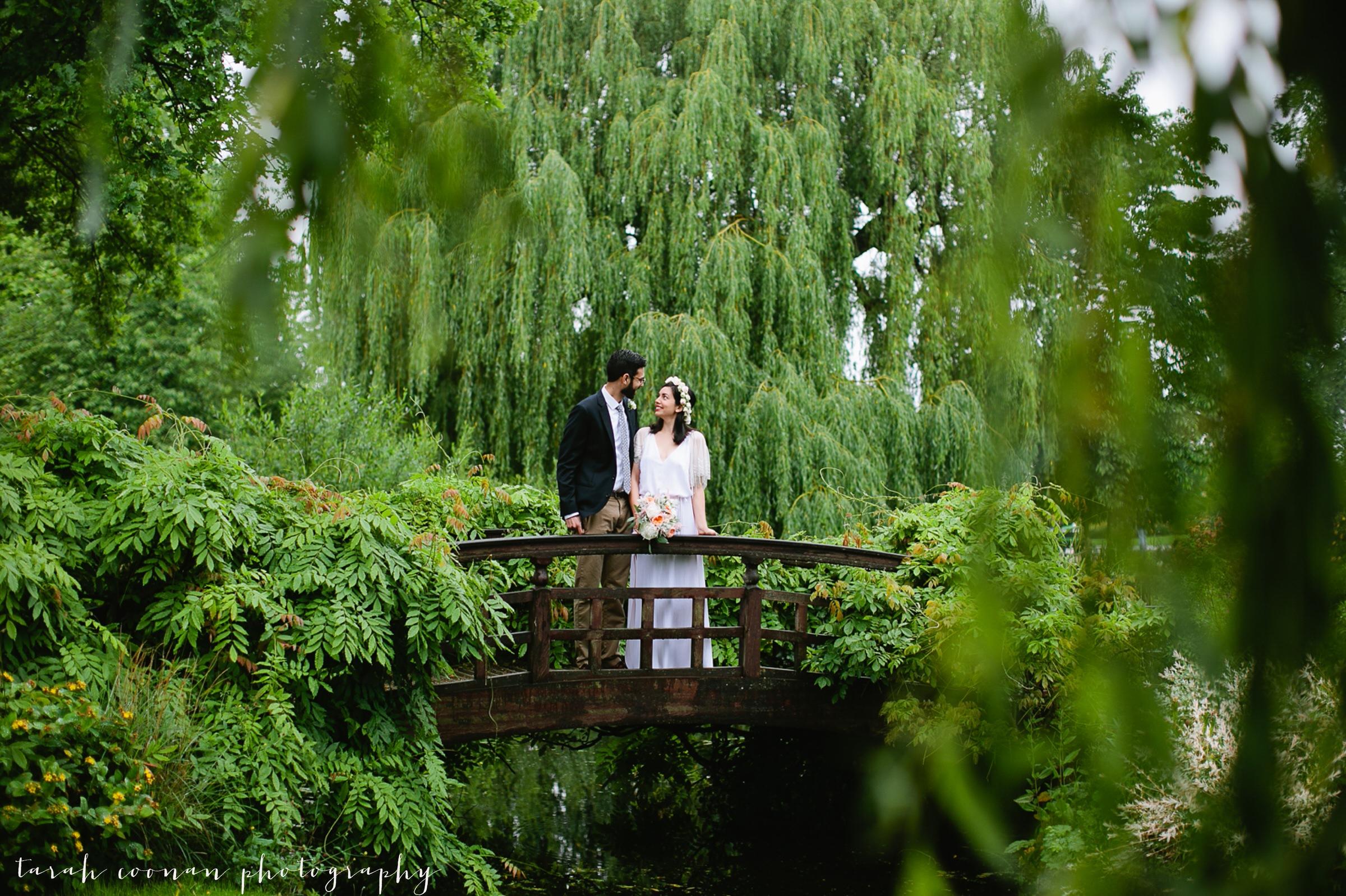 london engagement photo