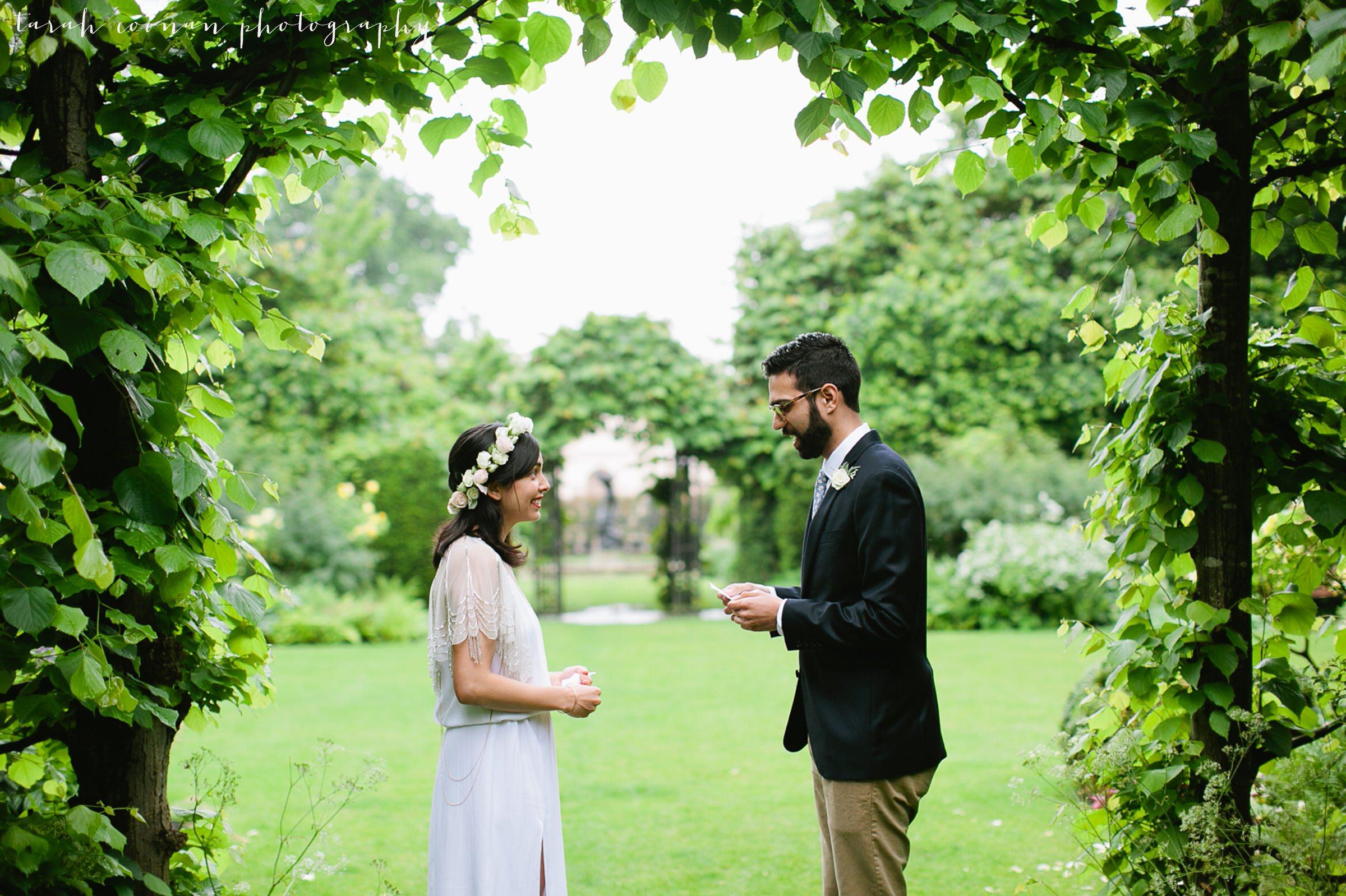 outdoor ceremony london