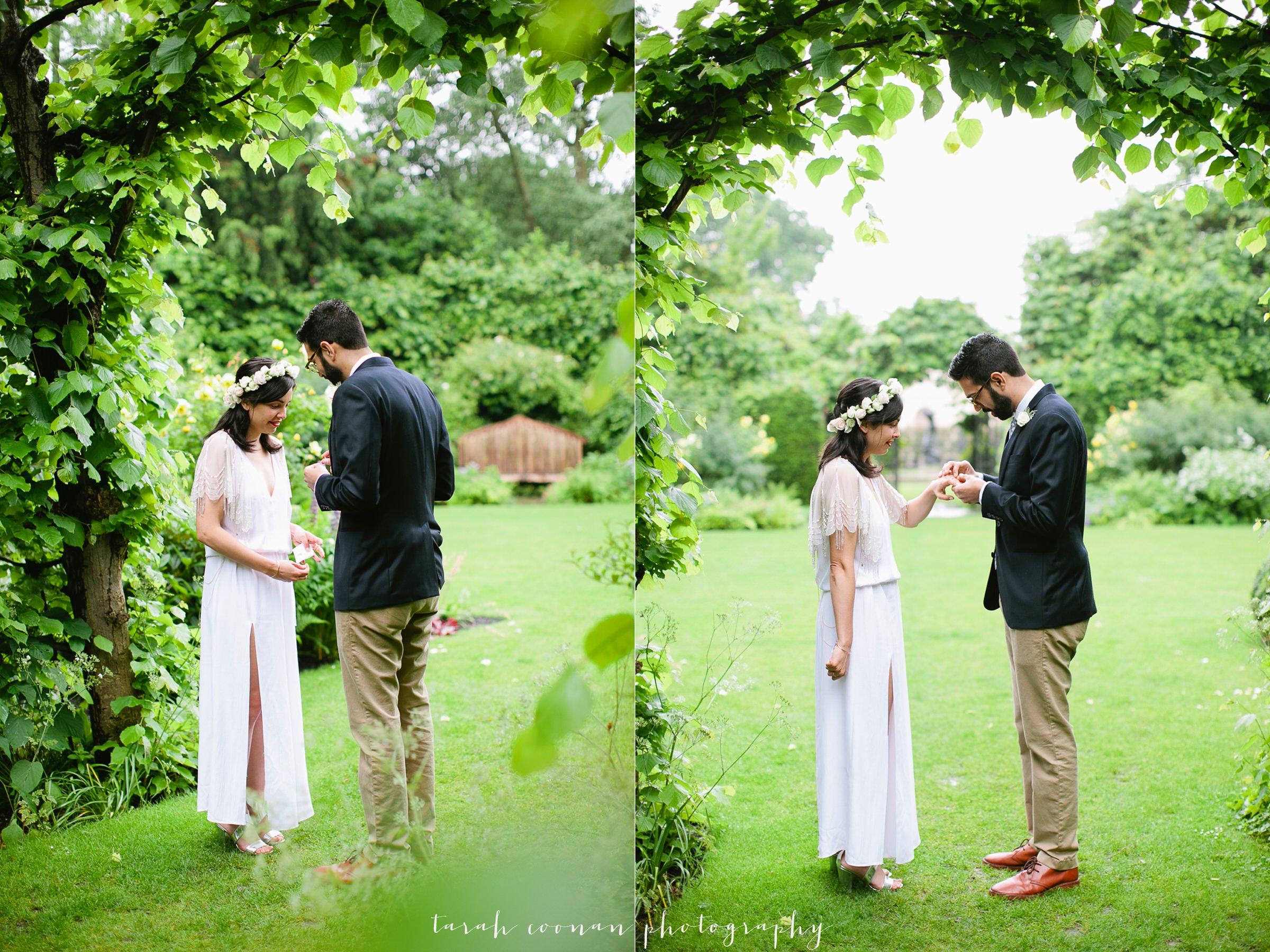 outdoor wedding london