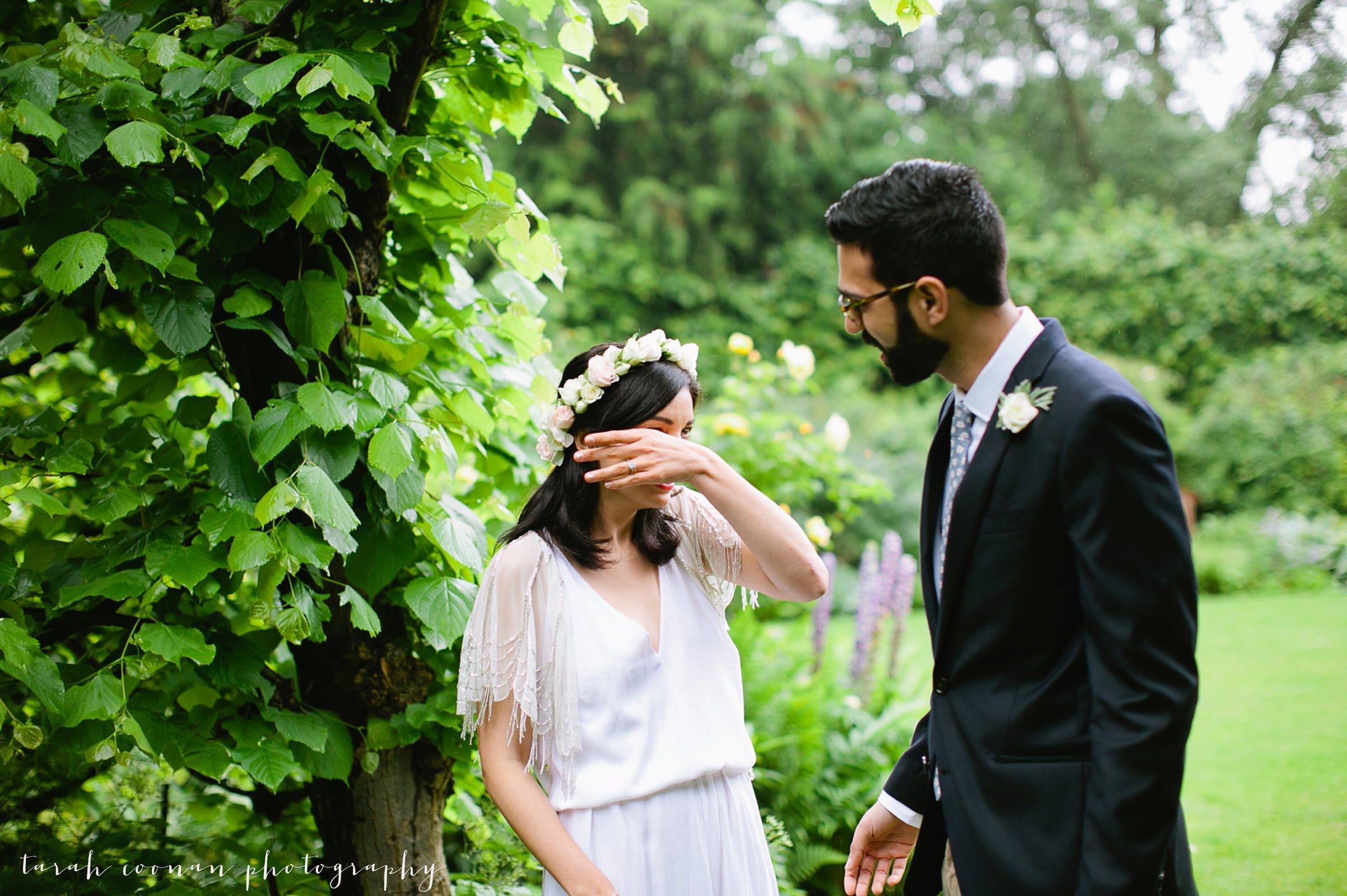 happy tears wedding